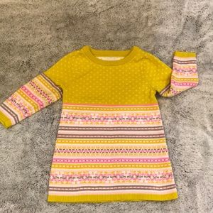 EUC!! 2/$12 ⭐️ OshKosh long sleeve sweater Dress